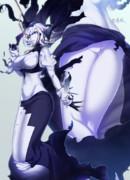 防空巡棲姫「メンドウナノハ…キライ…ナノニサァ…♥」