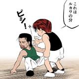 【スラムダンク】桜木vs鉄男 描いてみた。