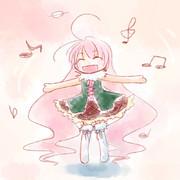 笑顔と歌を