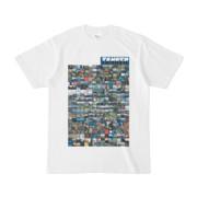 シンプルデザインTシャツ TANKER_on300(BLUE)