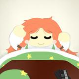 ちょっと横になるつもりがそのまま寝ちゃった美鈴