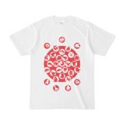 シンプルデザインTシャツ M_Ladybird(CRIMSON)