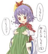 母性のある神奈子ちゃん