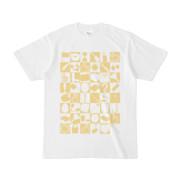 シンプルデザインTシャツ 四八シュプール(KHAKI)