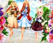 【今日のレア様】かわいい3人組…♡