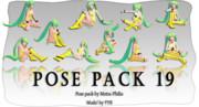 【MMD配布/MMD Pose Pack DL】#19