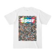 シンプルデザインTシャツ NC5.Spur_232(RAINBOW)