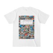 シンプルデザインTシャツ Spur_176/2(SILVER)