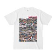 シンプルデザインTシャツ TANKER_on300(MAGENTA)