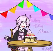 Happy birthday Yuzuki Yukari!