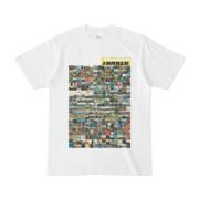 シンプルデザインTシャツ TANKER_on300(YELLOW)