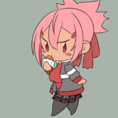 コロッケを食べる赤嶺ちゃん
