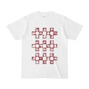 シンプルデザインTシャツ Cr/MONSTER(MAROON)