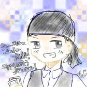 プレゼント通話お礼のイラスト太郎