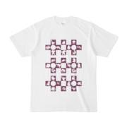 シンプルデザインTシャツ Cr/MONSTER(PURPLE)