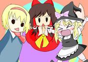サケノミとミニUDKと指人形アリス