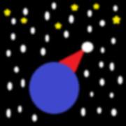 ホワイトクリスマスのサンタボール