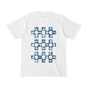 シンプルデザインTシャツ Cr/MONSTER(NAVY)