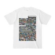 シンプルデザインTシャツ TANKER_on300(BLACK)