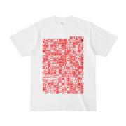 シンプルデザインTシャツ TOY☆TANKER(RED)