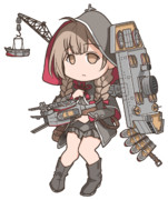 ぱちくりデフォルメ神州丸(GIFアニメ)