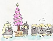 クリスマスツリーを作るしぐぽい