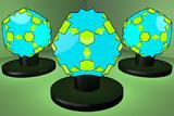 大十二・二十面体のランプ