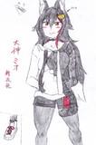 【ホロライブ】大神ミオ、新衣装初描き立ち絵
