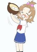 湯豆腐食べるしゅうちゃん