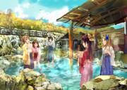 神風姉妹の温泉旅行