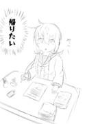 #今日のらくがき皐月ちゃん5