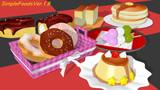 【追加配布】デザート6種類【MMD】
