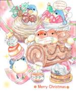トリスマスケーキ