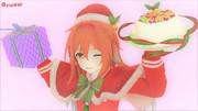 白露とケーキ
