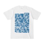 シンプルデザインTシャツ TOY☆TANKER(BLUE)