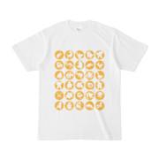 シンプルデザインTシャツ C.MONSTER(GOLD)