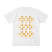 シンプルデザインTシャツ Cr/MONSTER(GOLD)