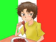 イタリア少年