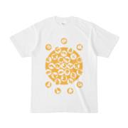 シンプルデザインTシャツ M_Ladybird(GOLD)