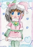 ミユちゃんもサンタ!