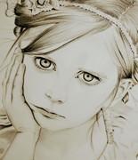 写実『少女』
