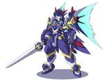 騎士型ロボ(オリジナル)