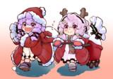 サンタ凛ちゃんとトナカイ穏ちゃん
