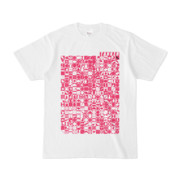 シンプルデザインTシャツ TOY☆TANKER(MAGENTA)