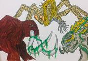 幻獣ベヒモス、六脚怪獣スキュラ、長命怪獣メトシェラ