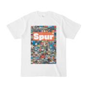 シンプルデザインTシャツ Spur_176/2(CHOCOLATE)