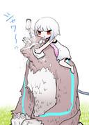 ペットを洗う