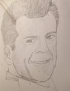 ブルース・ウィリス描いてみた