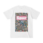 シンプルデザインTシャツ Spur/176_A(VIOLET)