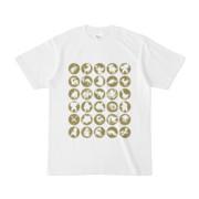 シンプルデザインTシャツ C.MONSTER(OLIVE)